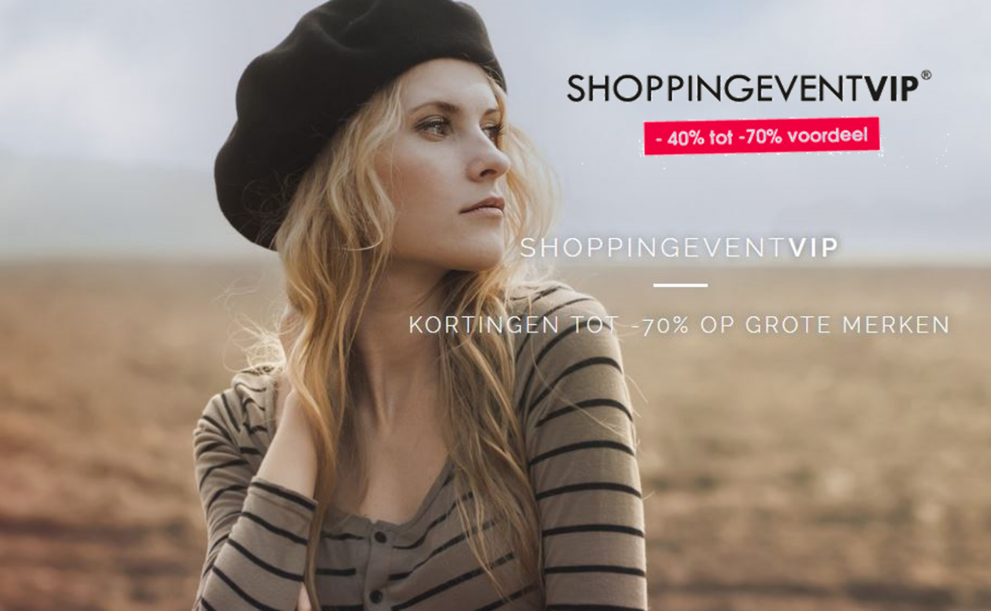 Shopping Event VIP: ongeziene kortingen tot –70%