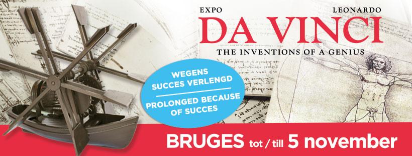 Bezoek de grootste expo over Leonardo Da Vinci