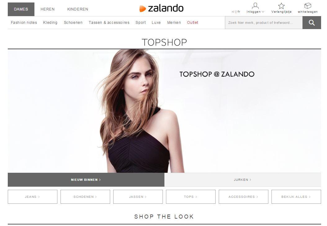 Collectie van Topshop te koop bij Zalando