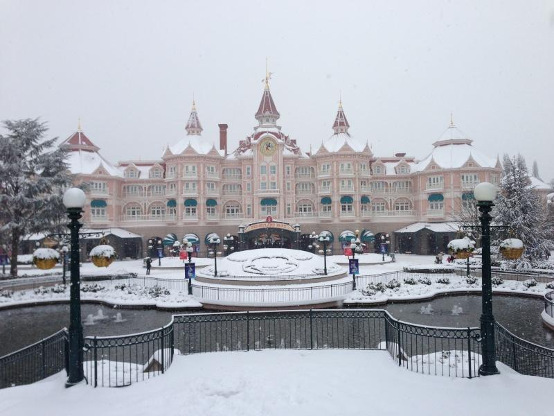 Disneyland Paris tijdens de Kerstperiode: magisch!