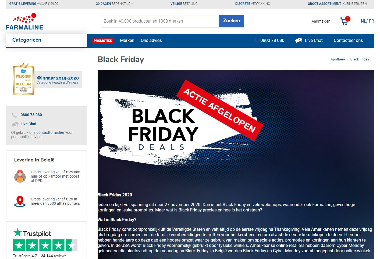 black friday deals pharmaline