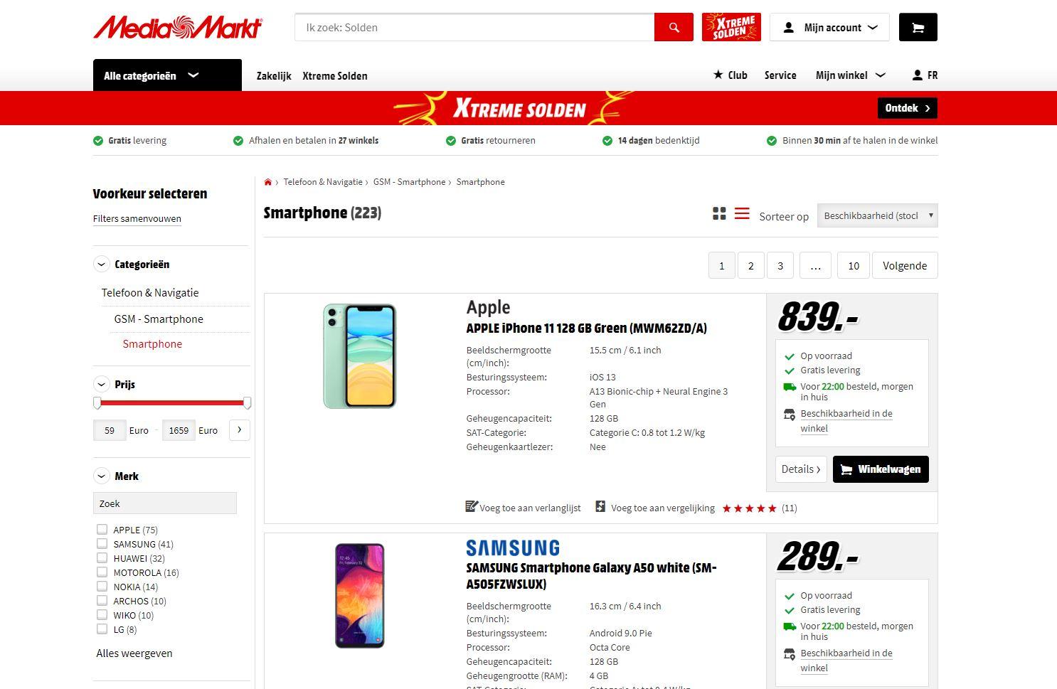 smartphone online bestellen media market