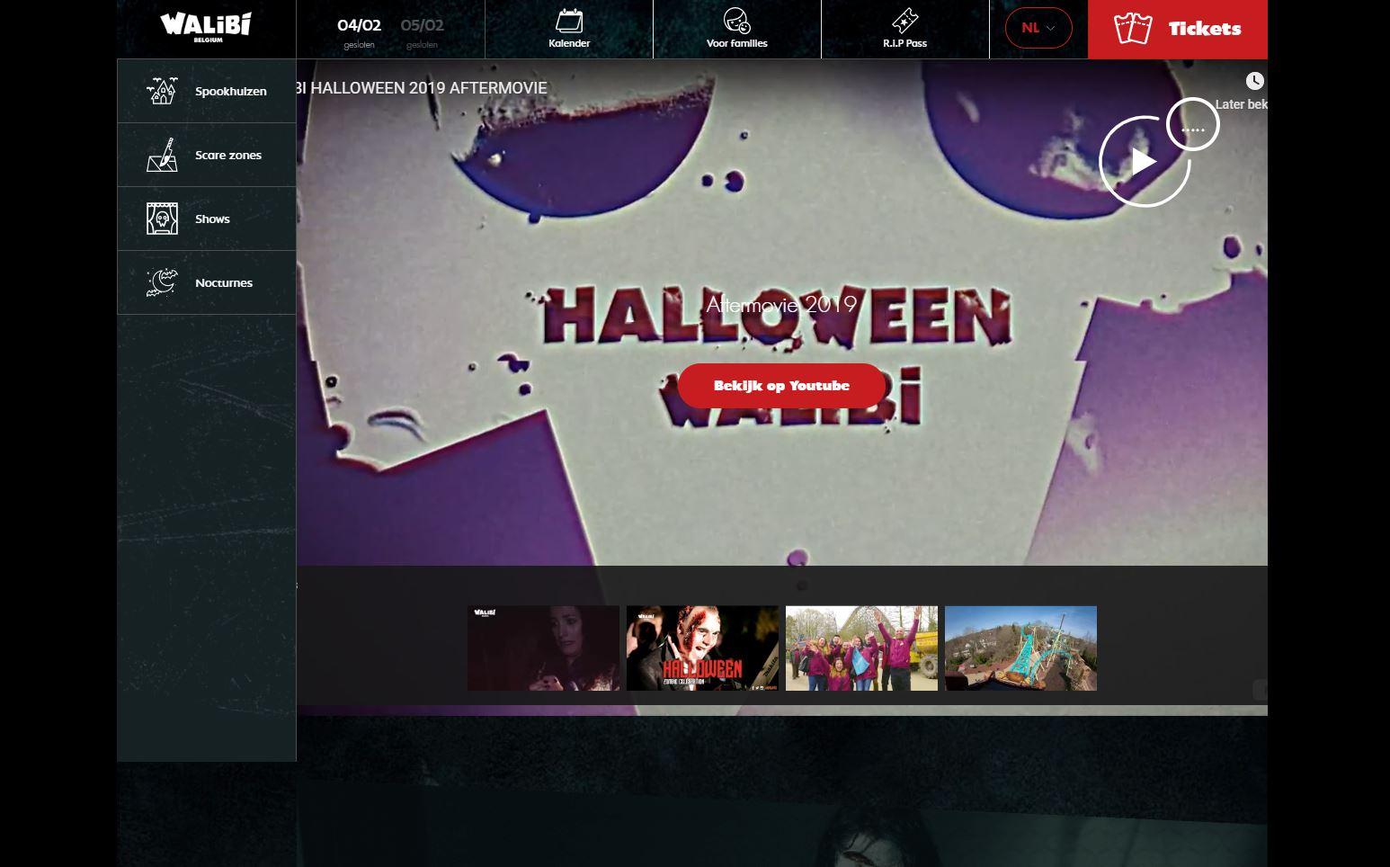 ontdek halloween in wallibi