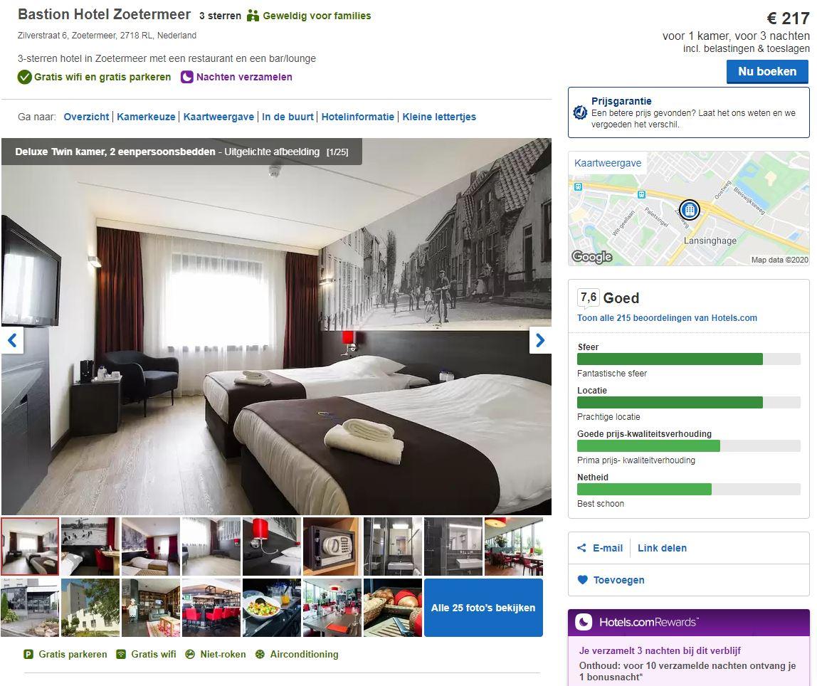 boek jouw verblijf bij hotel.com