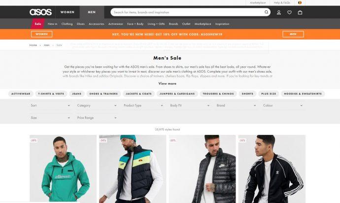 shop goedkoper via de sale van asso
