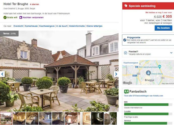 bekijk alle aanbiedingen van hotels.con