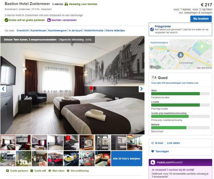 boek jouw verblijf bij hotels.com