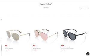 aanbod van zonnebrillen van de bijenkord