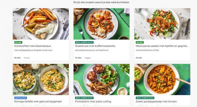 bekijk alle recepten op de website van hello frsh