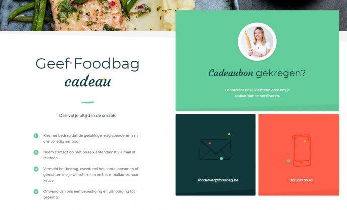 geef een Foodbag als cadeau