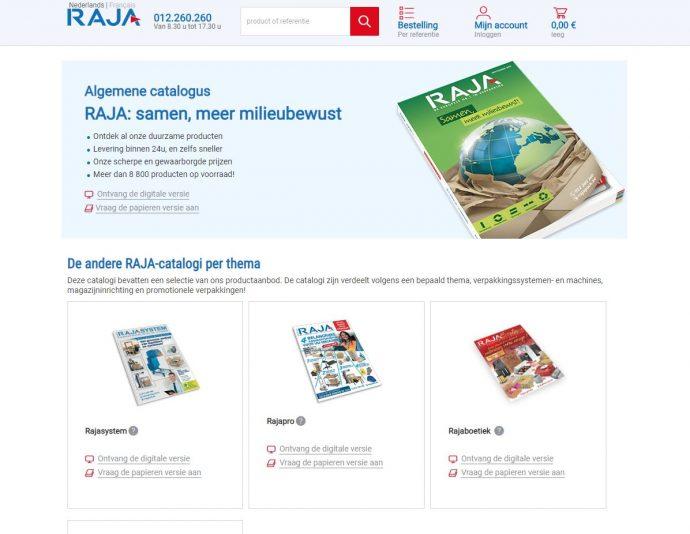 vraag de catalogus van radjapack gratis aan